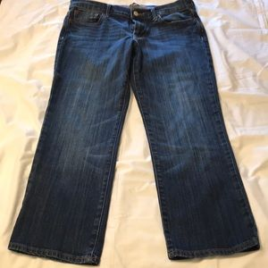 Women's Lucky Brand cropped jeans